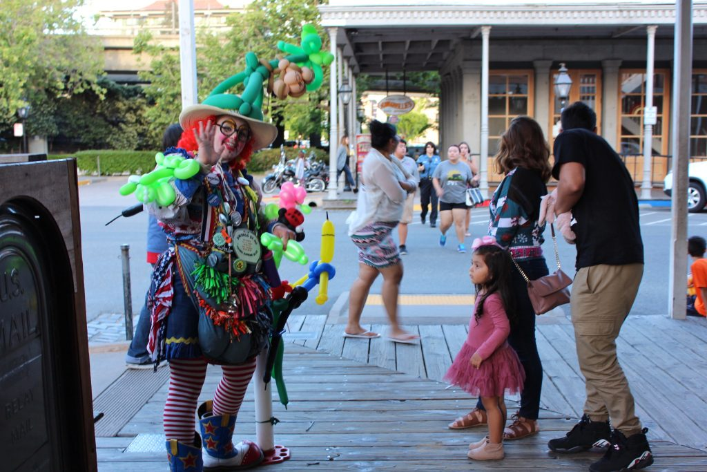 clown old sacramento