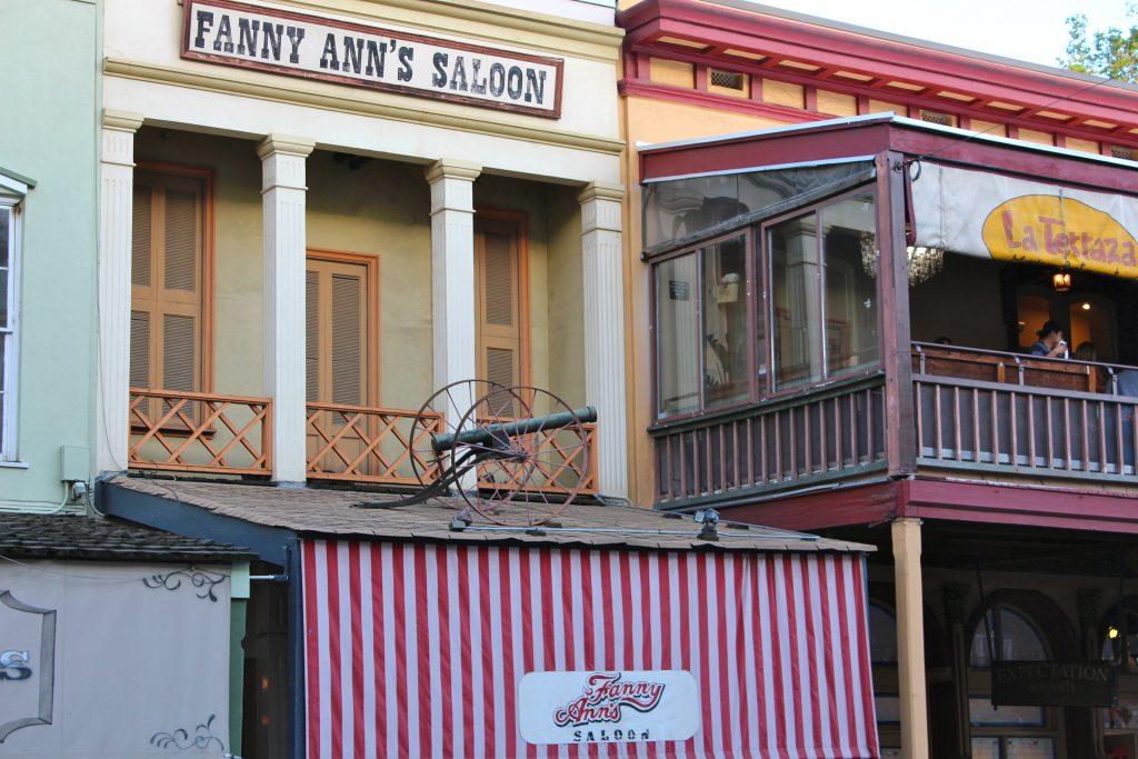 Fanny Ann's Saloon Old Sacramento