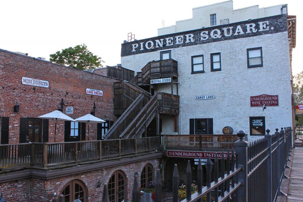 Old Sacramento Pioneer Square