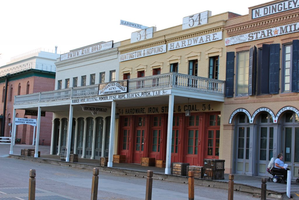 Old Sacramento buildings