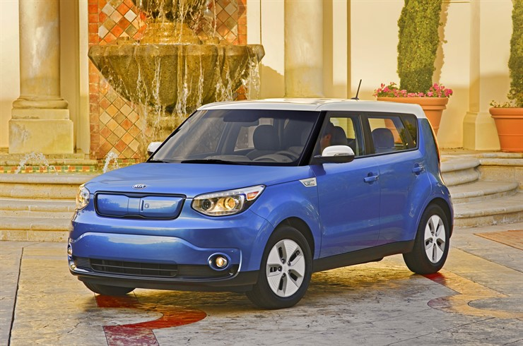 Mindful driving Kia Soul EV