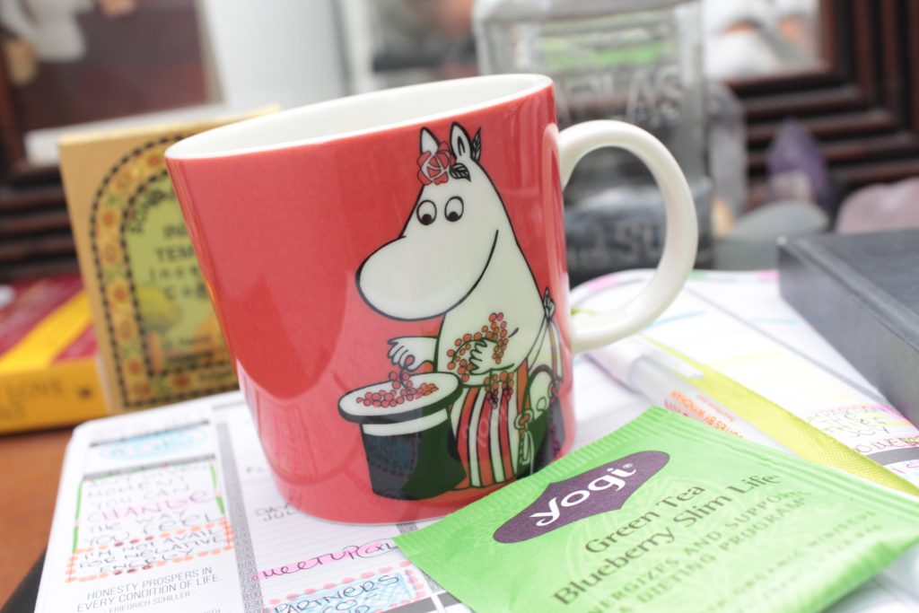 my zen mornings moomin mug