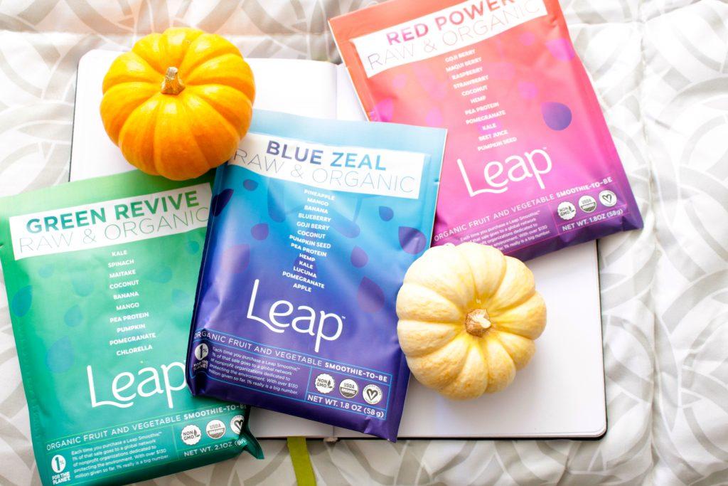 leap smoothie powder