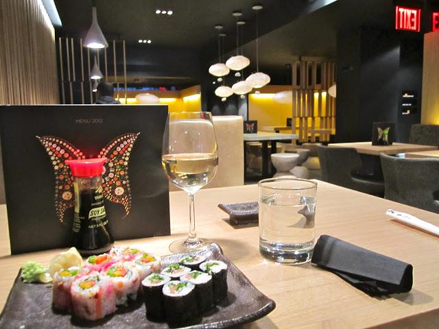 sushi shop on madison avenue