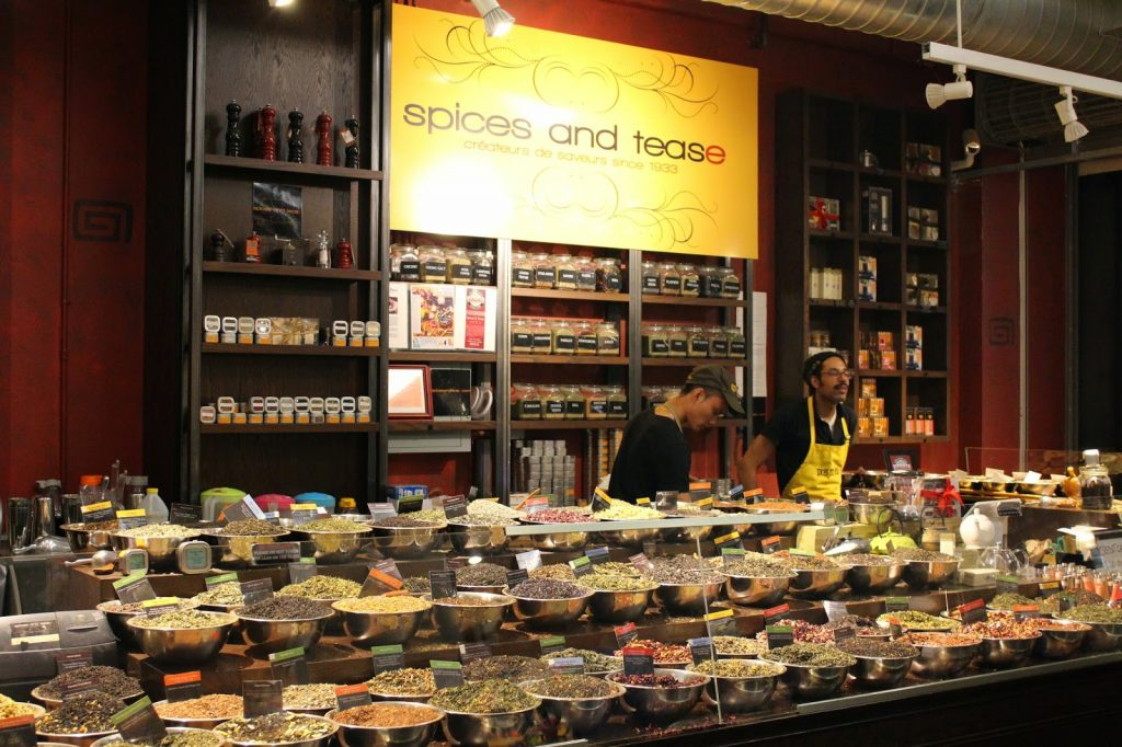 The Chelsea Market spices and tease