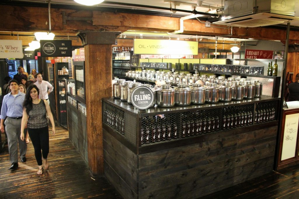 The Chelsea Market filling station