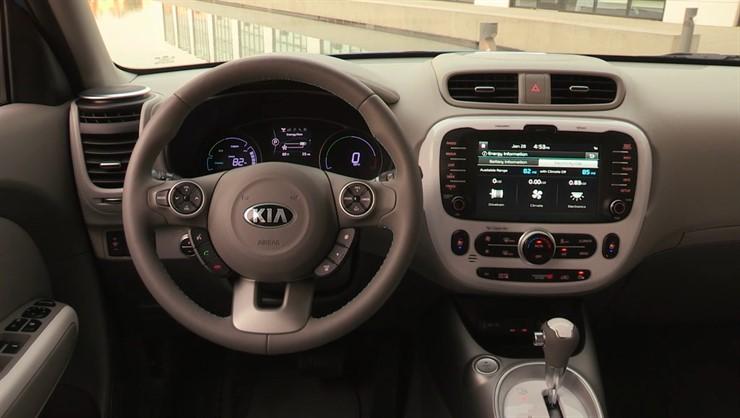Mindful driving Kia Soul EV