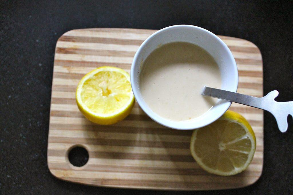 miso-tahini soup