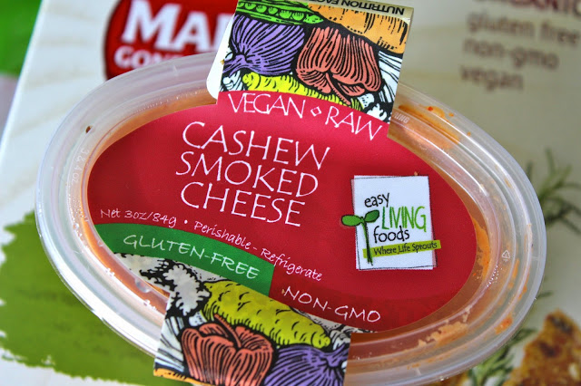easy living foods cashew smoked cheese