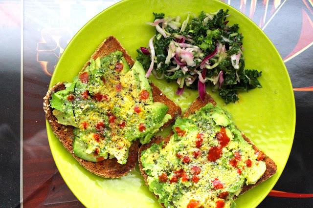 upgraded avocado toast